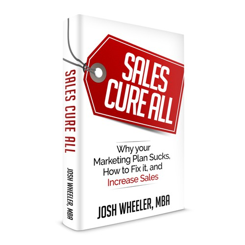 Book cover design for Josh Wheeler, MBA