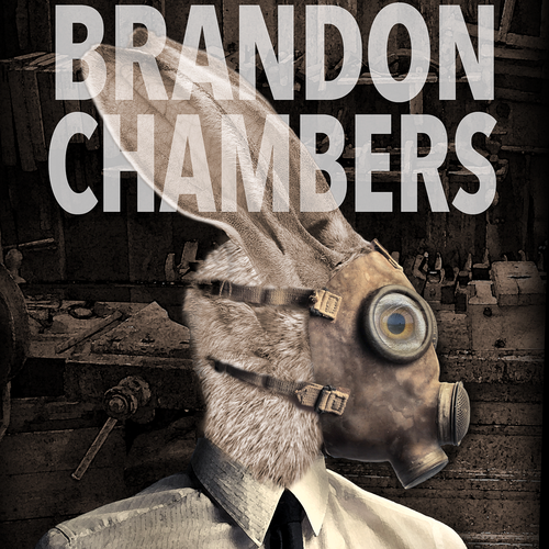 Cover design for a paranormal story about weird visions of the protagonist