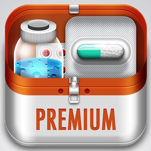 New icon for my 3 iPhone medical apps