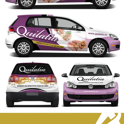 Car Wrap for Quilatia