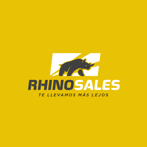 Logo concept for RhinoSales