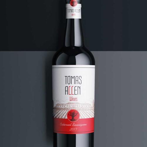 Label design wine