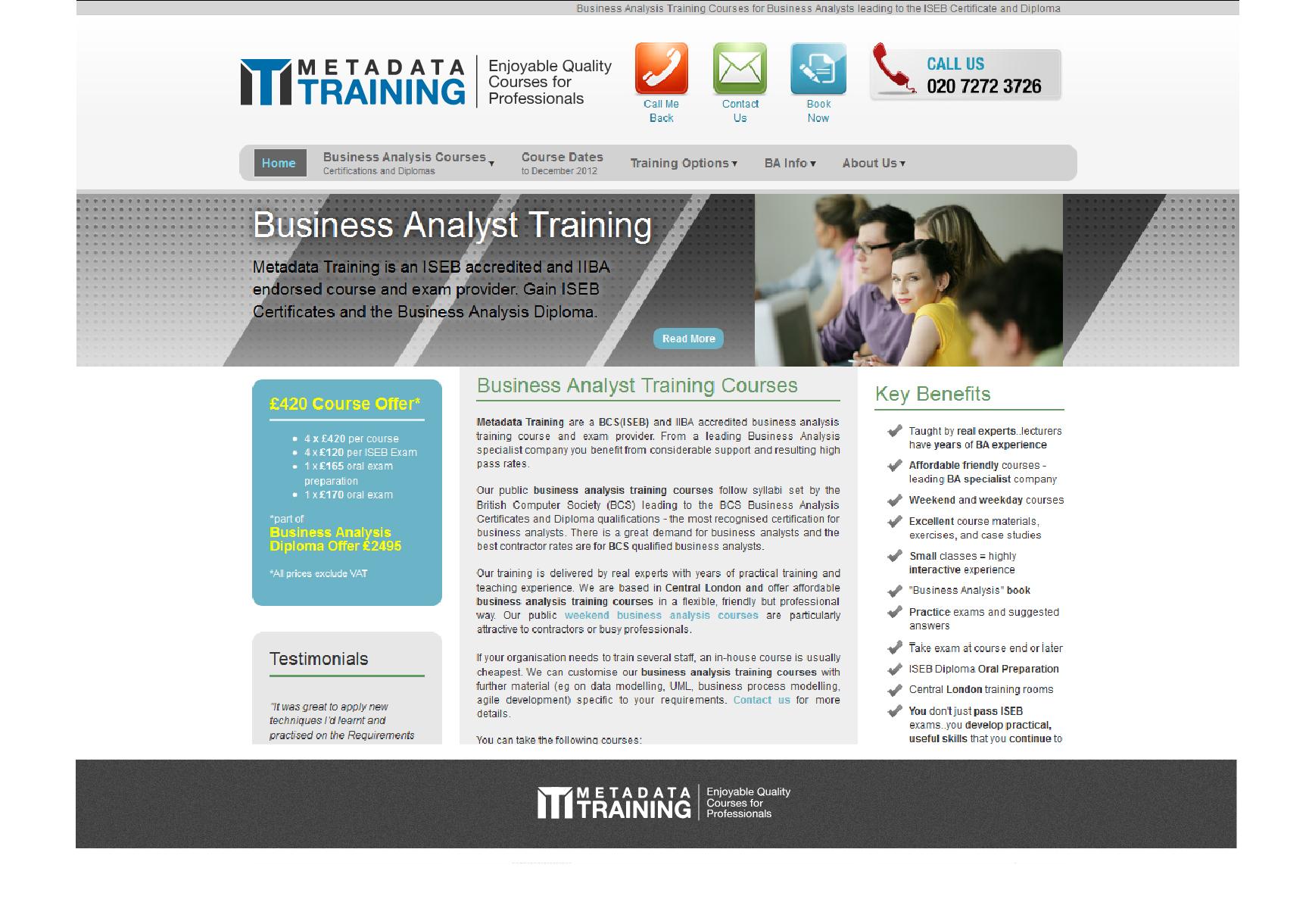 Help Metadata Training with a new logo