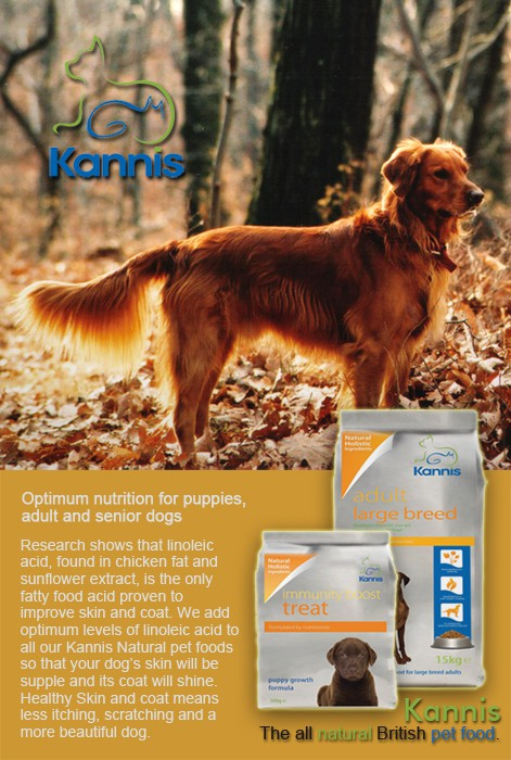 Create 10 Adverts for Kannis Pet Foods