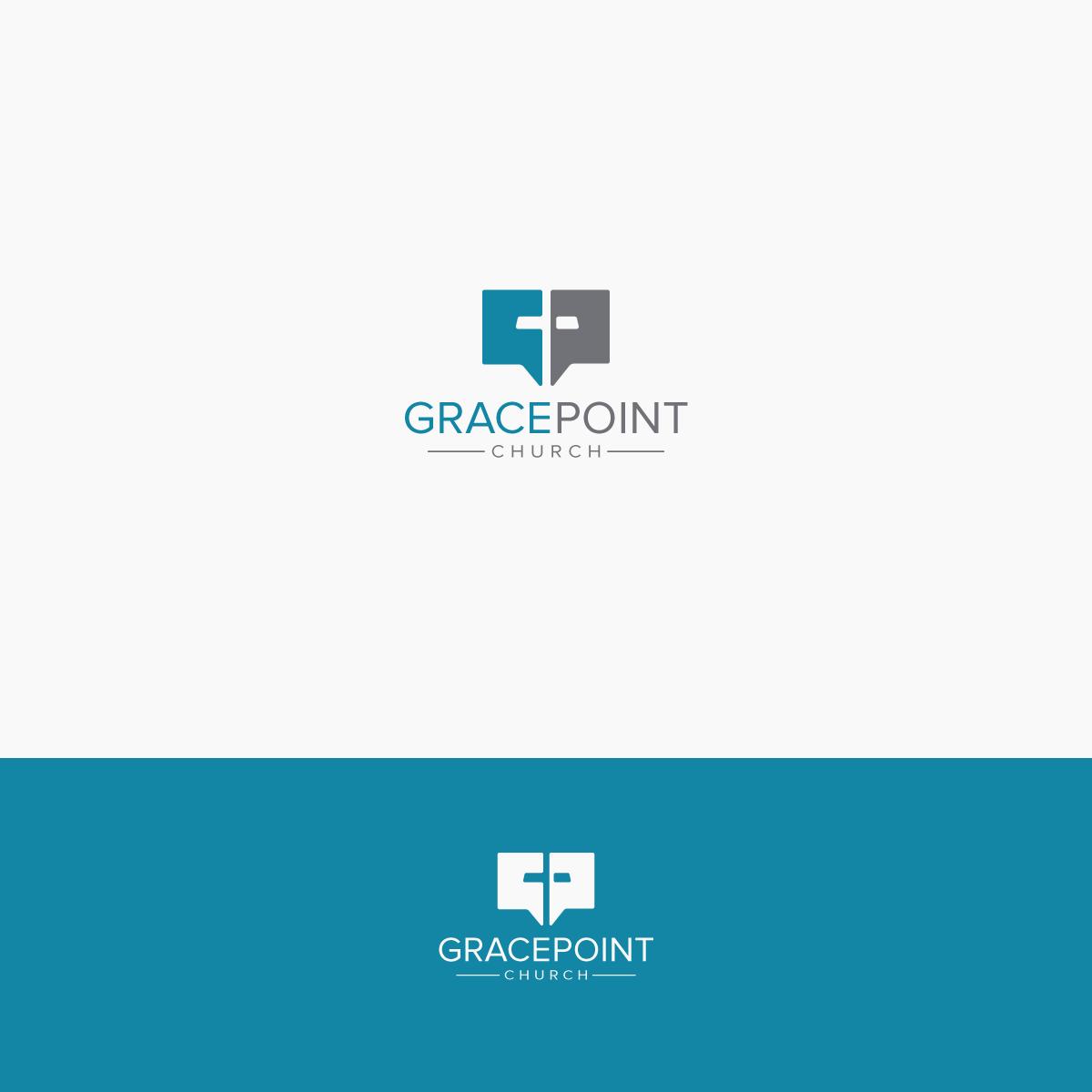 GracePoint Church logo design.