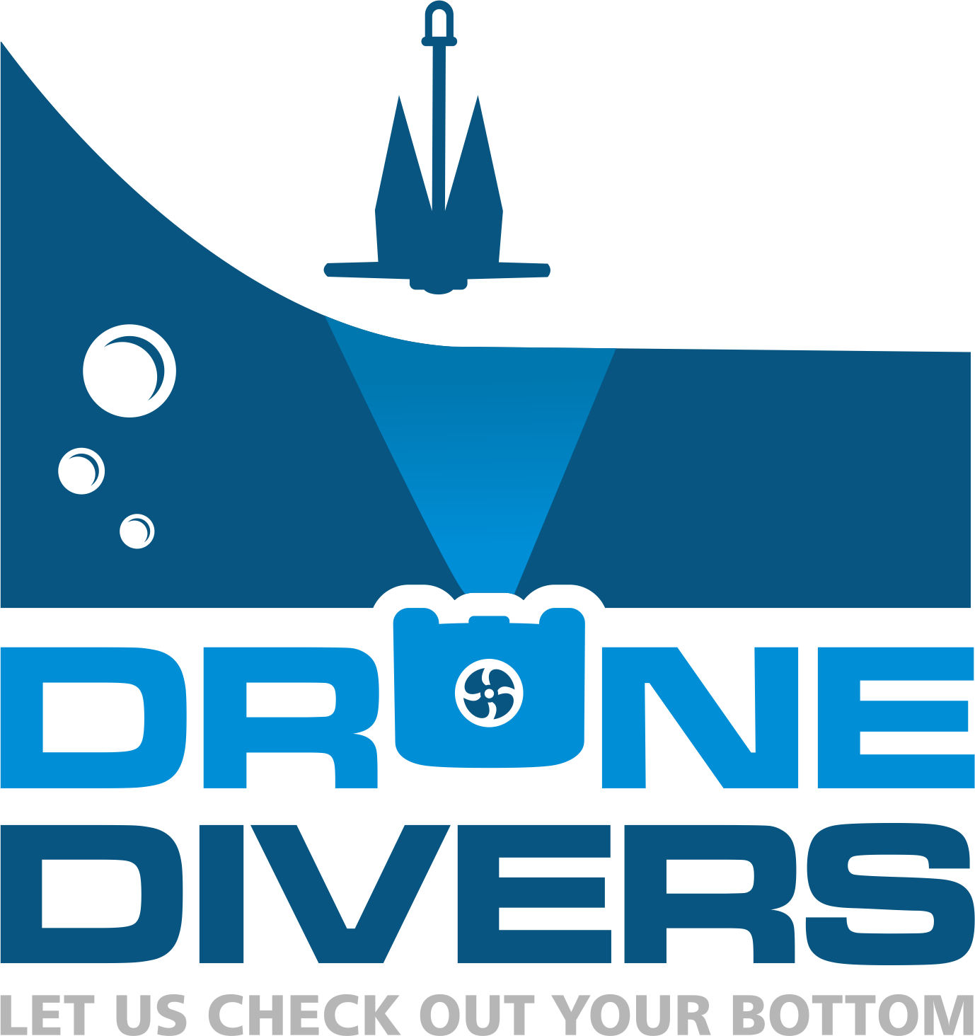 Fun Creative Underwater Logo