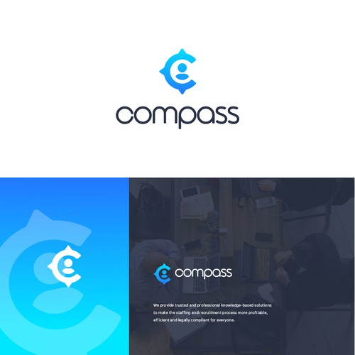 Logo for Compass company
