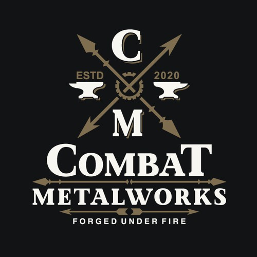 Logo design for metal working company