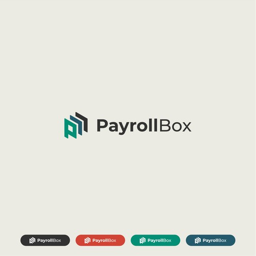 Bold Logo Concept for PayrollBox