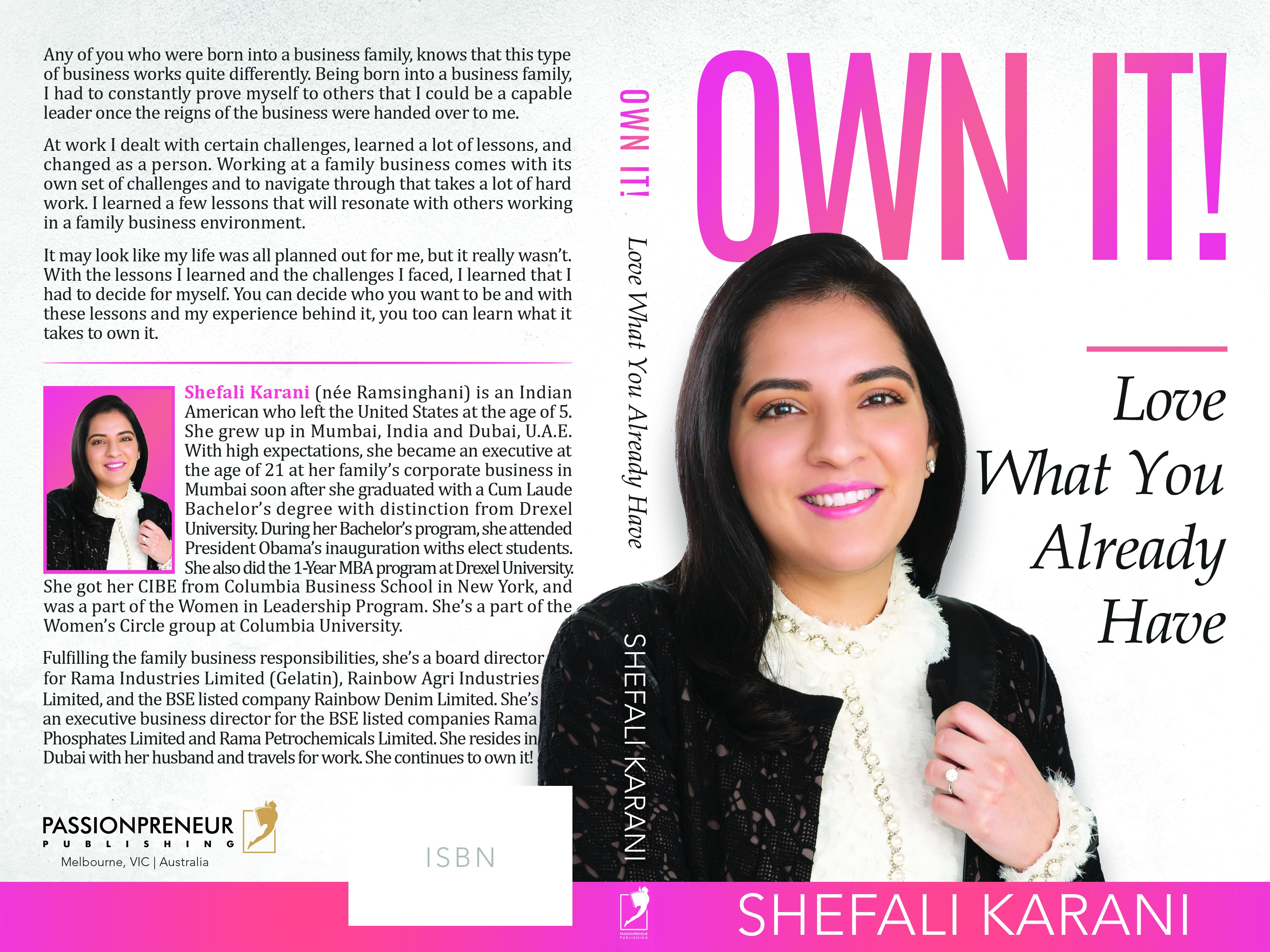 Own It! book cover