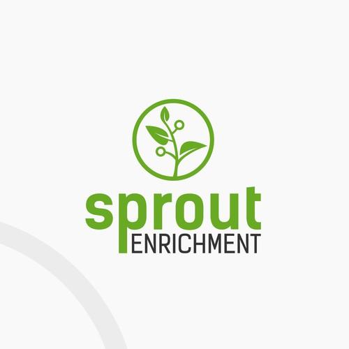 Sprout Enrichment Logo Design