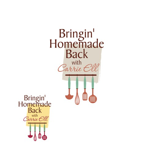 Help Bringin' Homemade Back with Carrie Ell with a new logo