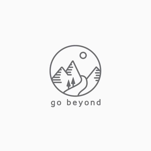 Modern and neat line-art logo