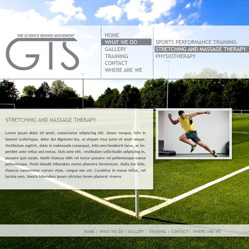 Help Grant Training Systems with a new website design