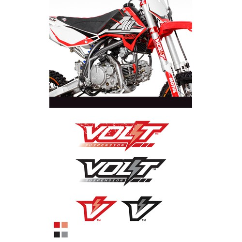 Create Motocross Racing Parts Logo for a Half US Half French company that want to GO-Pro ;-)