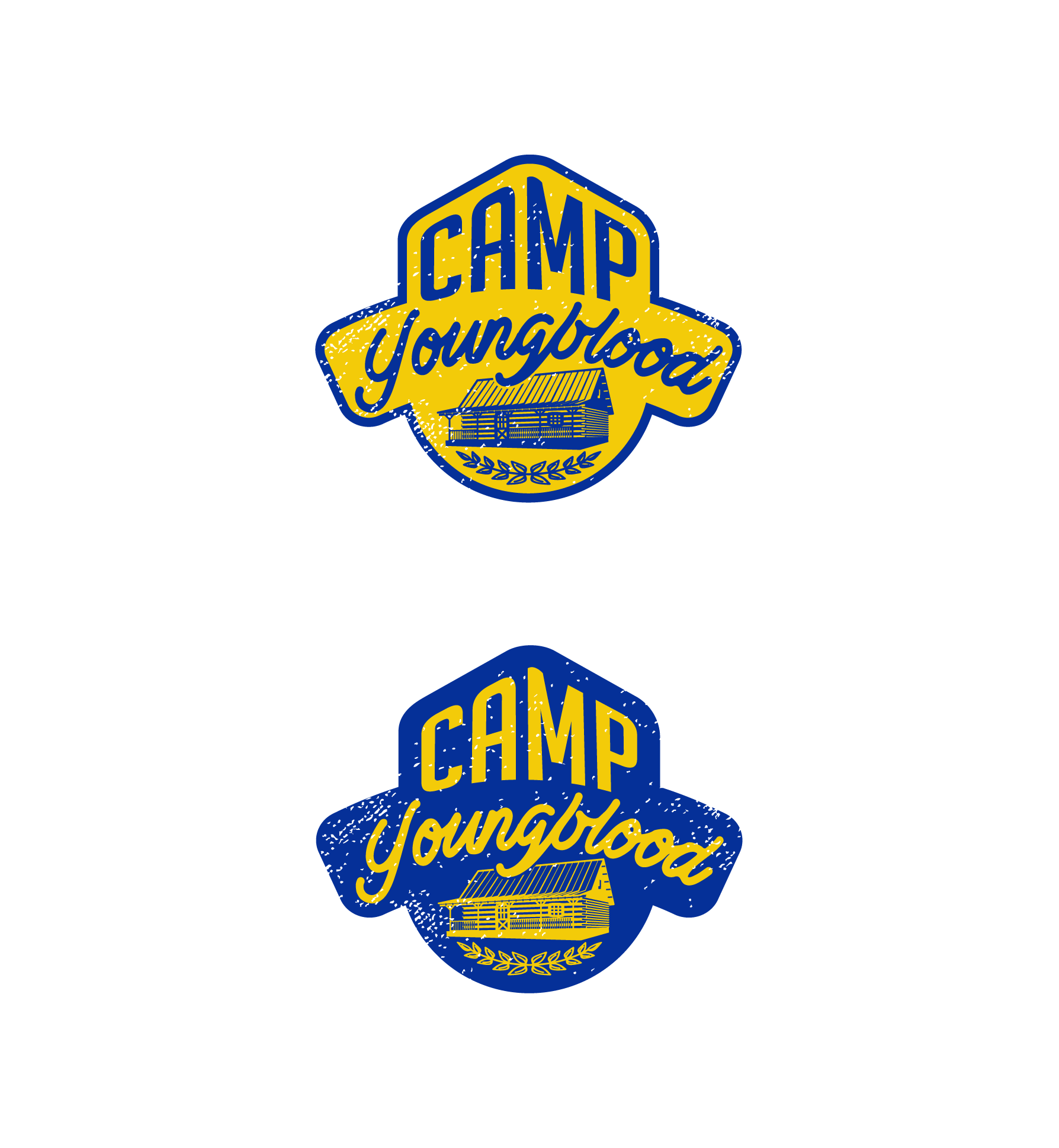 Logo for Camp Youngblood ...a way-cool, fun place!