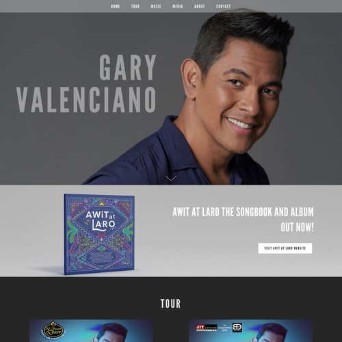 Gary Valenciano | Website for a Renowned Singer-Songwriter
