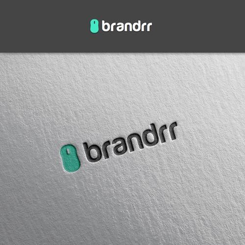 Logo concept for a logo-creator web application.