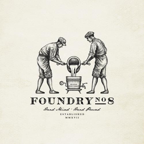 Logo design for FoundryNo.8
