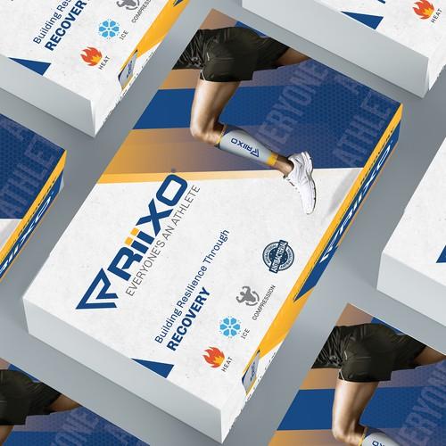Sports Wear package Design