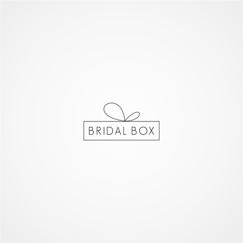 Chic Logo for a Wedding Business Geared towards the Bridesmaids, Bridal Box