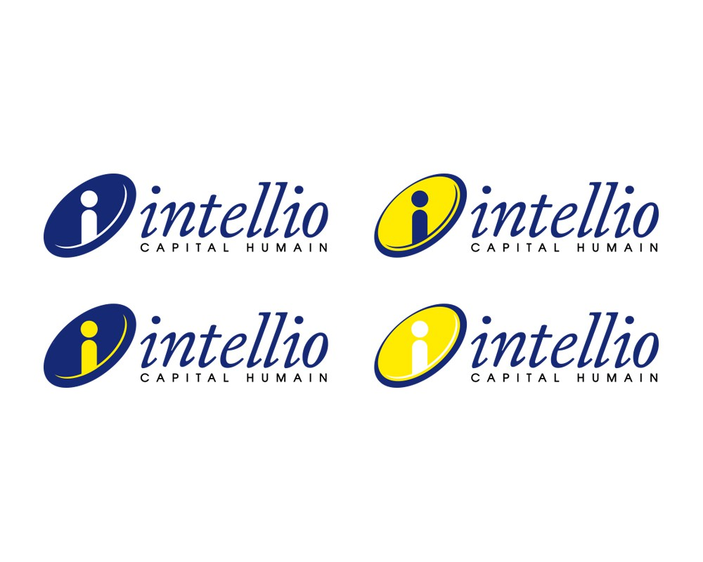 logo and business card for Intellio