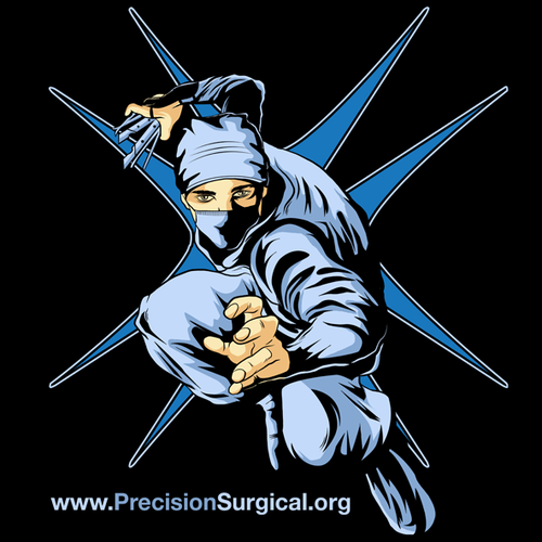 Need a Ninja/Samurai - Surgeon for a Tshirt design!