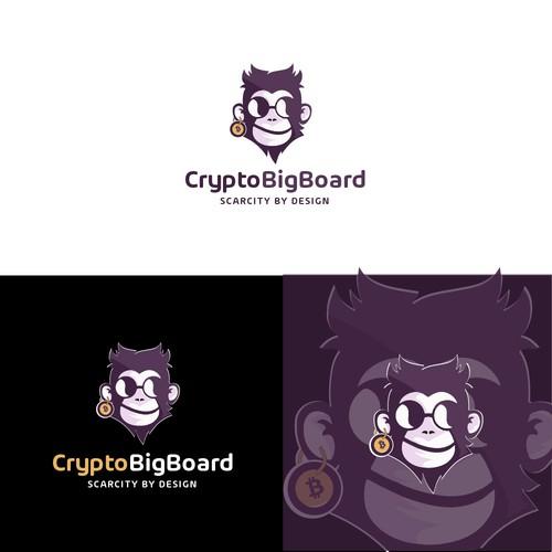 Crypto Monkey Logo