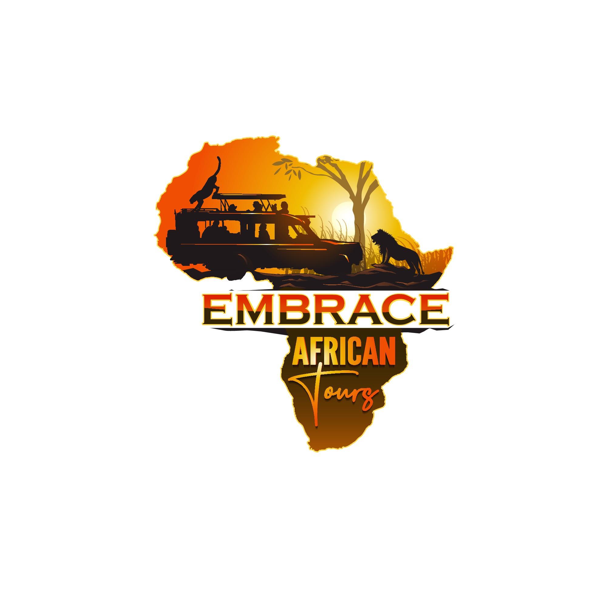 Design a cool logo for a brand new, socially conscious African tour company.