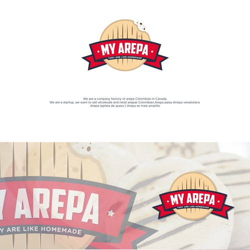 Logo concept for MY AREPA