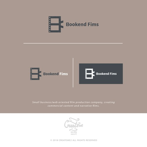 Iconic logo for a film production company