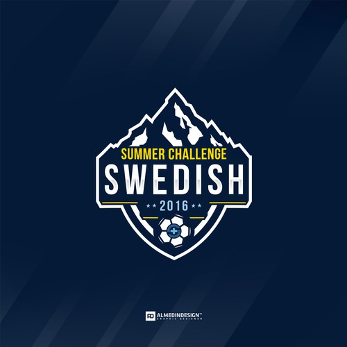 Logo for a youth Premier soccer tournament