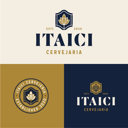 Bold logo for Itaici Brewing
