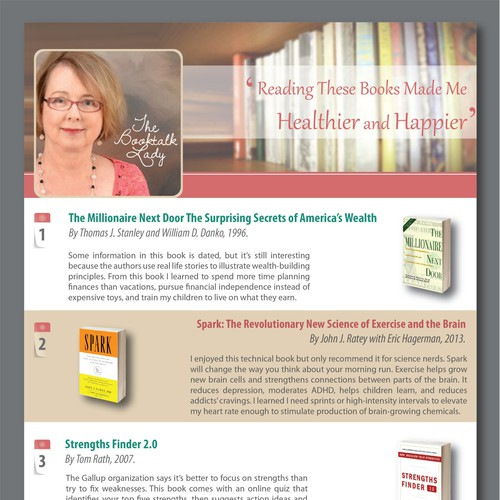 Book Recommendation email