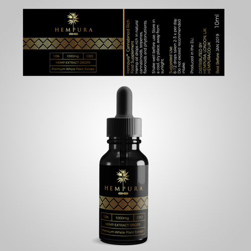 CBD Packaging ang Label Design