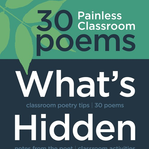 Book cover to appeal to elementary school teachers who don't like poetry