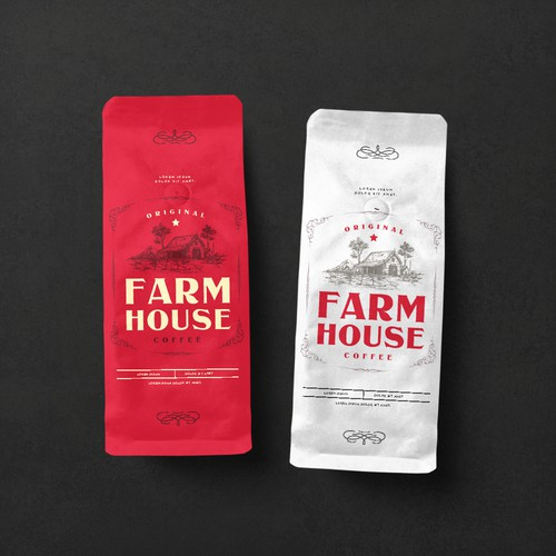 FARM HOUSE COFFEE (Mockup)
