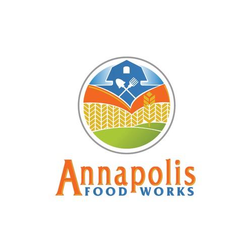 Food production company logo