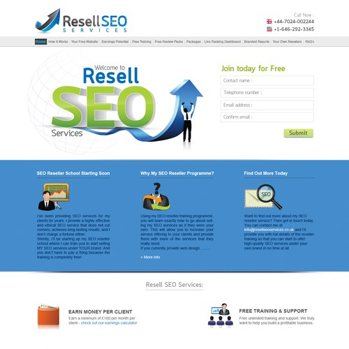 website design for resellseoservices.co.uk