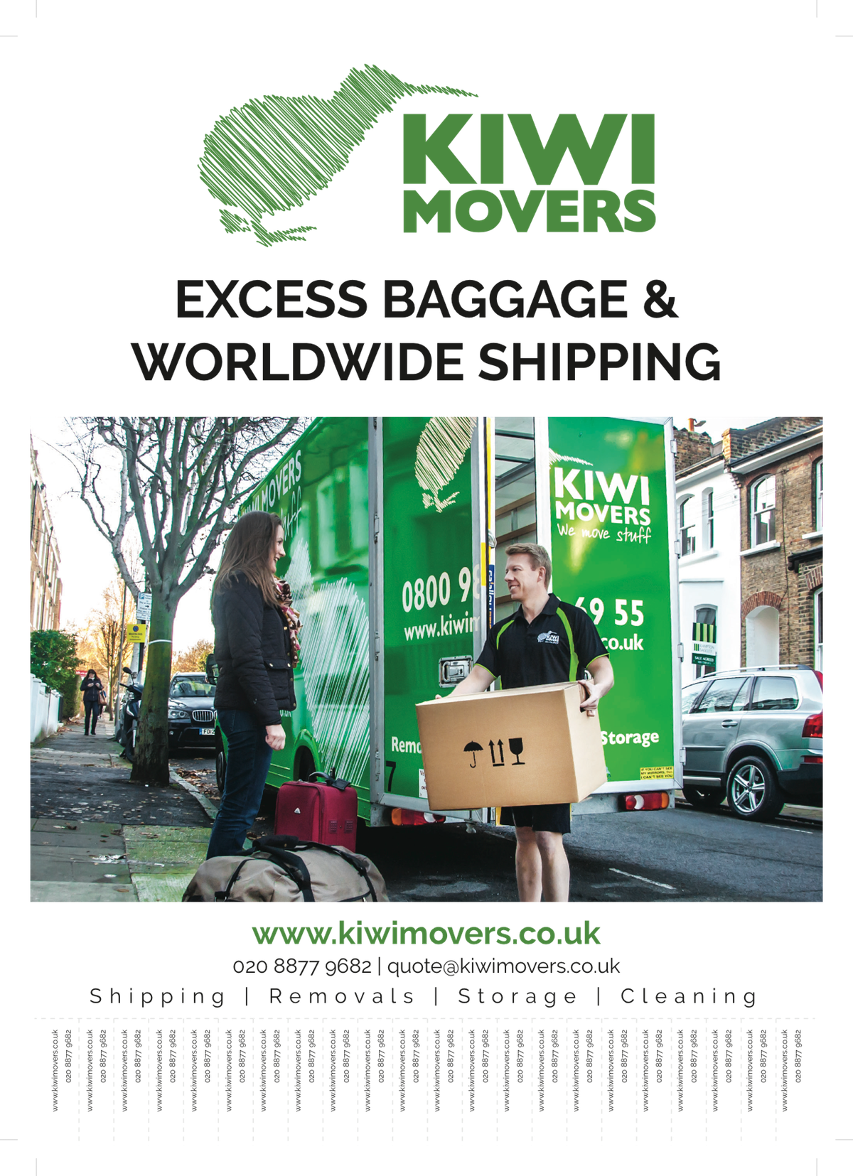 Kiwi Shipping Poster