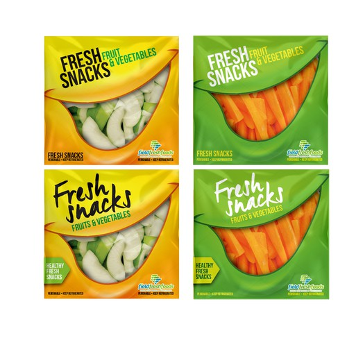 Fruit and Vegetable bag design for schools