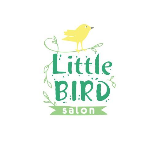 Logo for natural hair salon