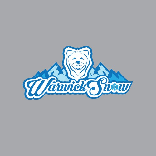 Concept logo for snowboard club.
