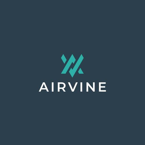 Arivine Logo Design