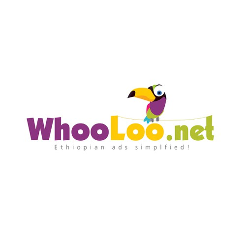 WhoLoo.net | Logo design