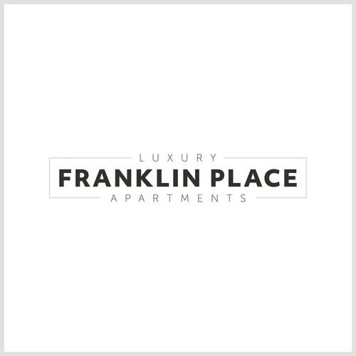 Minimal logo for new apartment complex.