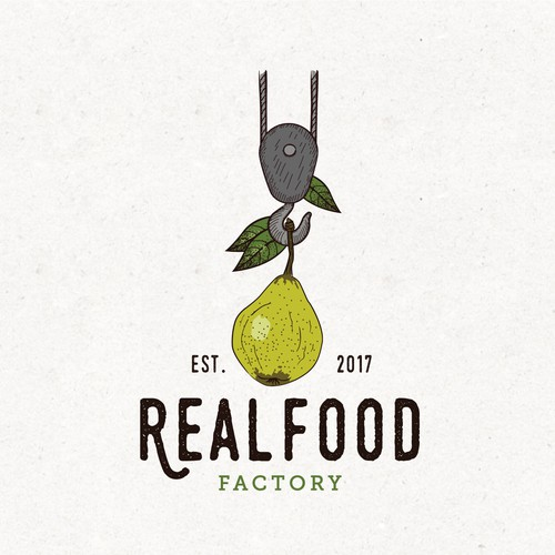Logo for a vegan place