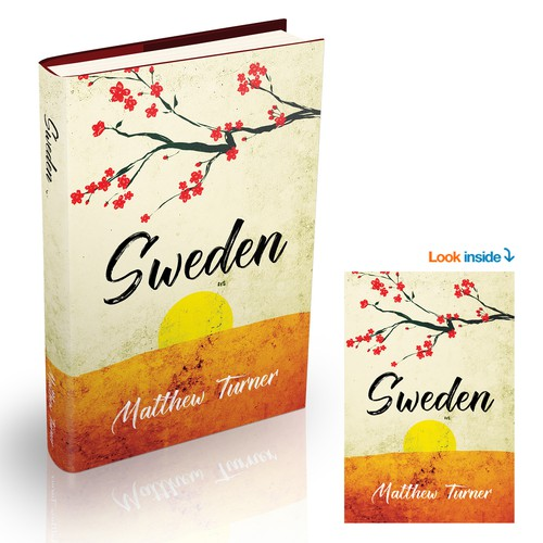 Book Cover Design for SWEDEN by Matthew Turner