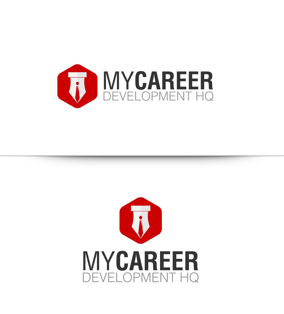 Create the next logo for My Career Development HQ