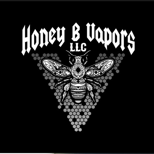 Logo for Honey B Vapors